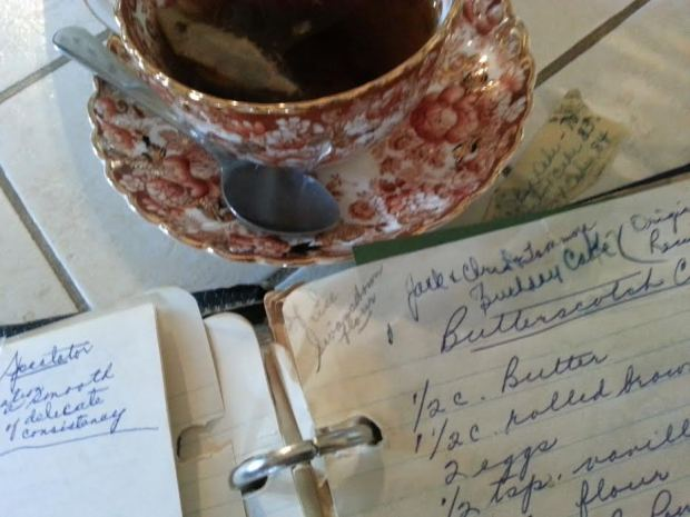 tea and recipe